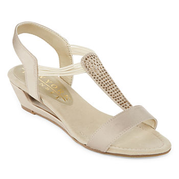b8cf4ec927dd Low Wedge Sandals All Women s Shoes for Shoes - JCPenney