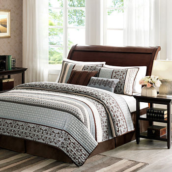 Madison Park Harvard 5-pc. Quilt Set
