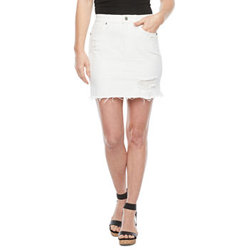 Arizona Womens A-Line Skirt-Juniors