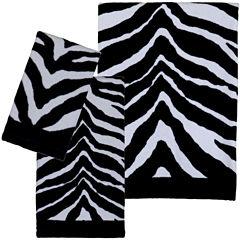 Creative Bath™ Zebra Bath Towels