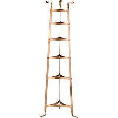 Old Dutch International® Satin Copper 6-Shelf Cookware Stand