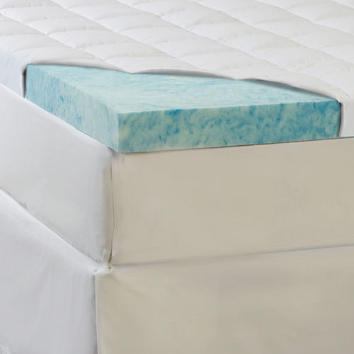Comforpedic from Beautyrest® 5½ Supreme Gel Memory Foam and Fiber Topper
