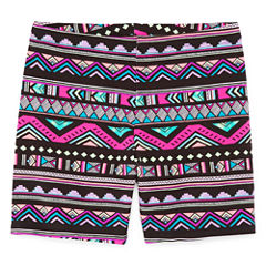 Total Girl Bike Shorts - Big Kid Girls
