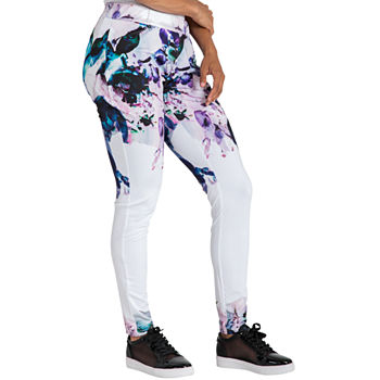 Poetic Justice Womens Mid Rise Skinny Track Pant