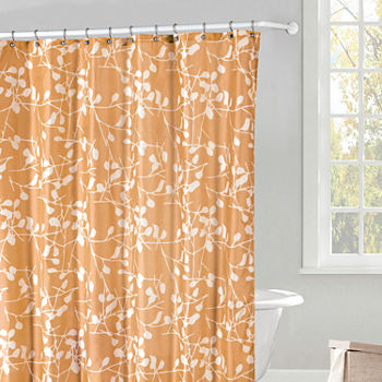 brown and orange shower curtain. Shower Curtain Set  Add To Cart Orange 23 99 Sets Curtains For Bed Bath JCPenney