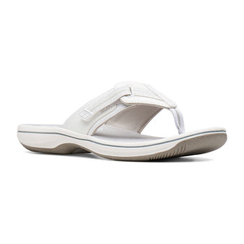 68bfe4081f1702 White Women s Sandals   Flip Flops for Shoes - JCPenney