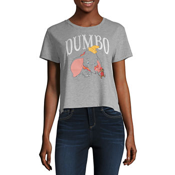 c5a6c239d9ec6 Disney Womens Crew Neck Short Sleeve Minnie Mouse Graphic T-Shirt-Juniors.  Add To Cart. New. Dumbo