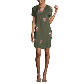 0cbb2e981546 Shirt Dresses - JCPenney