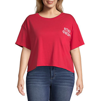 c0196a3f28968 Graphic T-shirts Tops for Women - JCPenney