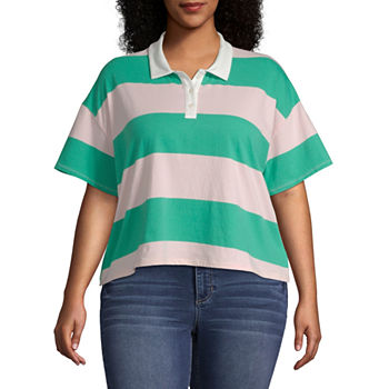 5bfd2c1f4dc4f PGA TOUR Womens Y Neck Sleeveless Polo Shirt. Add To Cart. Only at JCP