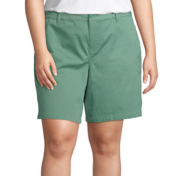 b2658c7703 St. John's Bay Green Shorts for Women - JCPenney