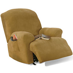 SURE FIT® Stretch Piqué 1-pc. Recliner Slipcover
