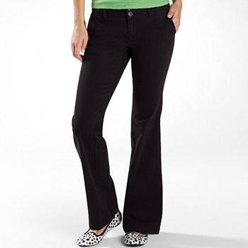 056755744bdb8 Bootcut Black Pants for Women - JCPenney
