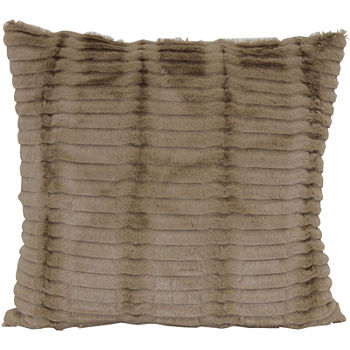Faux Fur Brown Pillows Throws For The Home JCPenney Best Jcpenney Decorative Throw Pillows