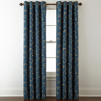 Blue Curtains & Drapes for Window - JCPenney