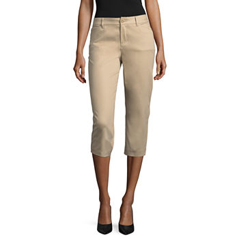 c92a8a40972 St. John s Bay Classic Stretch Fabric Secretly Slender Capris