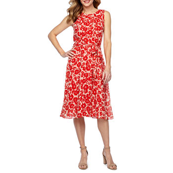 77ee9a9c84fe6 Jessica Howard Sleeveless Floral Fit & Flare Dress · (2). Add To Cart. Few  Left