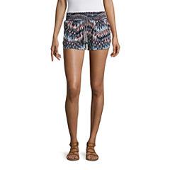 Rewash Woven Pull-On Shorts-Juniors