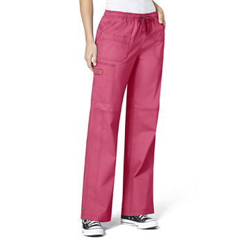 Wonderwink® WonderFLEX 5108 Faith Multi-Pocket Cargo Pant - Petite