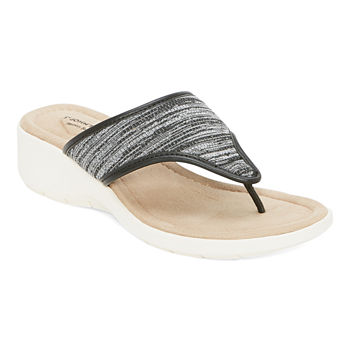 St. John's Bay Womens Zomp Heeled Sandals