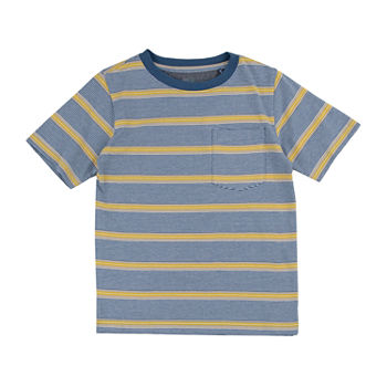 Retreat Los Angeles Little & Big Boys Round Neck Short Sleeve T-Shirt