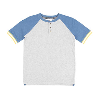 Retreat Los Angeles Little & Big Boys Short Sleeve Henley Shirt