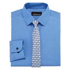 Van Heusen Shirt + Tie Set - 8-20