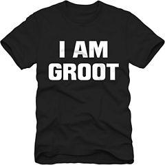 I Am Groot Short Sleeve Marvel Graphic T-Shirt