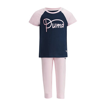 ca5e5aa25b14 Puma Puma Girls Apparel 2-pc. Tonal Pant Set Girls