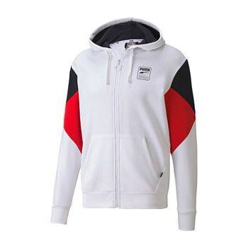 Puma Rebel Mens Long Sleeve Hoodie