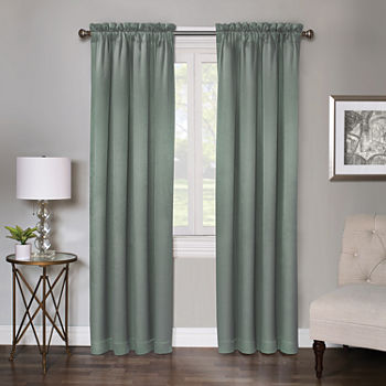 Regal Home Regency Light-Filtering Rod-Pocket Single Curtain Panel