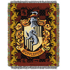 Harry Potter Hufflepuff Crest Tapestry Throw