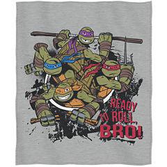 Teenage Mutant Ninja Turtles Sweatshirt Throw