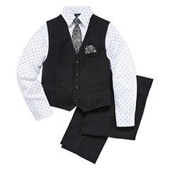 Steve Harvey Boys Woven Pant Suit-8-20