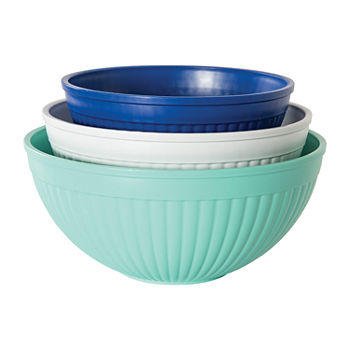 Nordicware 3 Piece Prep & Serve Mixing Bowls