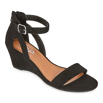 Pop Womens Strasberg Wedge Sandals