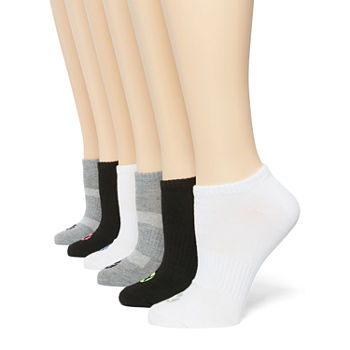 Xersion 6 Pair No Show Socks Womens