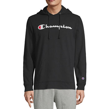 Champion Midweight Jersey Mens Long Sleeve Hoodie