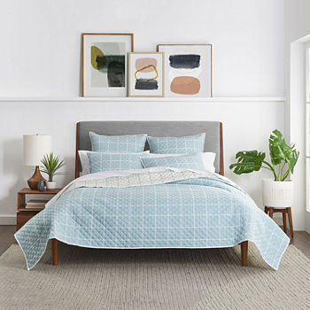Fieldcrest Windowpane Reversible Quilt