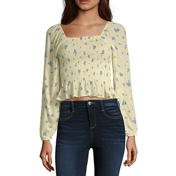 d04e9a73bc9 Blouses Tops for Juniors - JCPenney