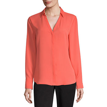 85f60907ad9cdc Orange Tops for Women - JCPenney