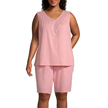68d8e5630ce Plus Size Pajama Sets - Shop JCPenney