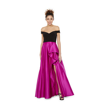 DJ Jaz Off The Shoulder Ball Gown-Juniors