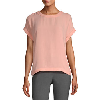 Worthington Womens Dolman Clean Shell - Tall