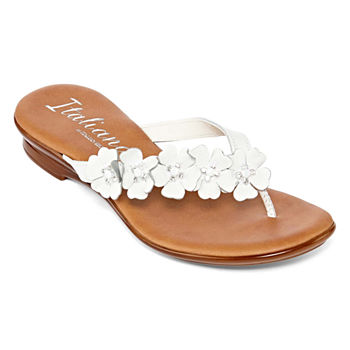 1761a4529fafec Flat Sandals Women s Sandals   Flip Flops for Shoes - JCPenney