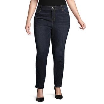 210a90c536a02 Liz Claiborne Boyfriend Jeans - Women s Plus · (10). Add To Cart. Few Left