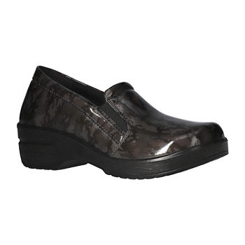 Easy Works By Easy Street Womens Leeza Slip-On Shoe