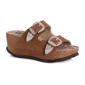 28ed6ad37e39 Muk Luks Women s Sandals   Flip Flops for Shoes - JCPenney
