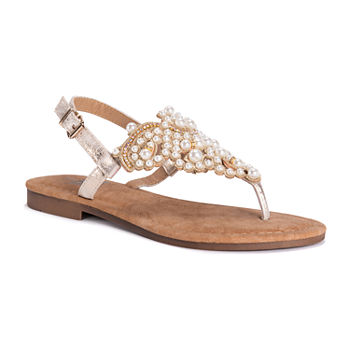 13200e92f03 Muk Luks Casual Women s Sandals   Flip Flops for Shoes - JCPenney