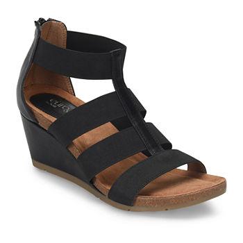 0fcd656e49fe Eurosoft Womens Renae Wedge Sandals. Add To Cart. Black.  43.99